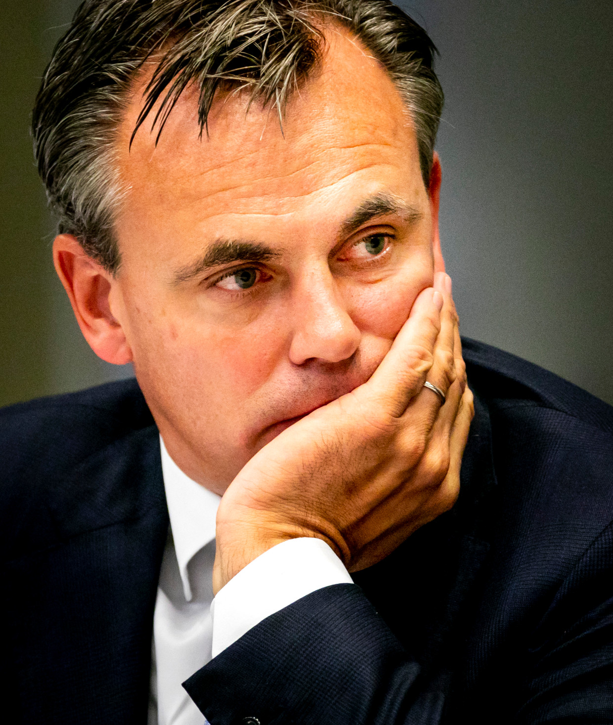 Staatssecretaris Mark Harbers (Justitie en Veiligheid).