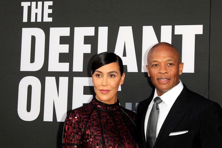 Dr. Dre en z'n vrouw Nicole.
