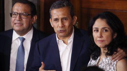 Peruaanse oud-president Humala week na vrijlating uit huis gezet