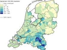Brabant telt 3412 coronapatiënten: de ziekenhuisopnamen in kaart