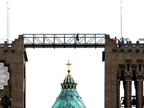 Langer klimmen op Haarlemse KoepelKathedraal