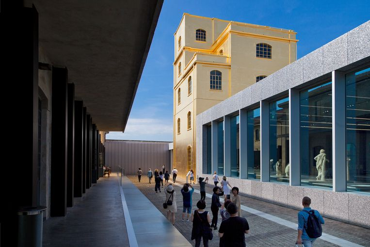 Fondazione Prada in Milaan, ontworpen door Rem Kolhaas. Beeld Hollandse Hoogte