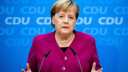 Merkel erkent fouten gemaakt te hebben in crisis rond chef staatsveiligheid