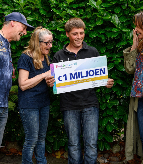 Hovenier uit Steenwijkerwold wint miljoen euro: 'Dit is wel heel veel geld'