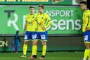 Ongtoocheling bij spelers van Waasland-Beveren: een stilaan vertrouwd beeld.