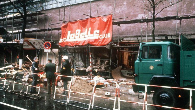 De Stasi was ervan op de hoogte dat er een bomaanslag op de discotheek La Belle in West-Berlijn (5 april '86) zou worden gepleegd. Beeld epa