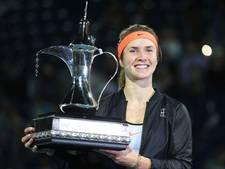 Svitolina in Dubai naar tweede toernooizege dit jaar