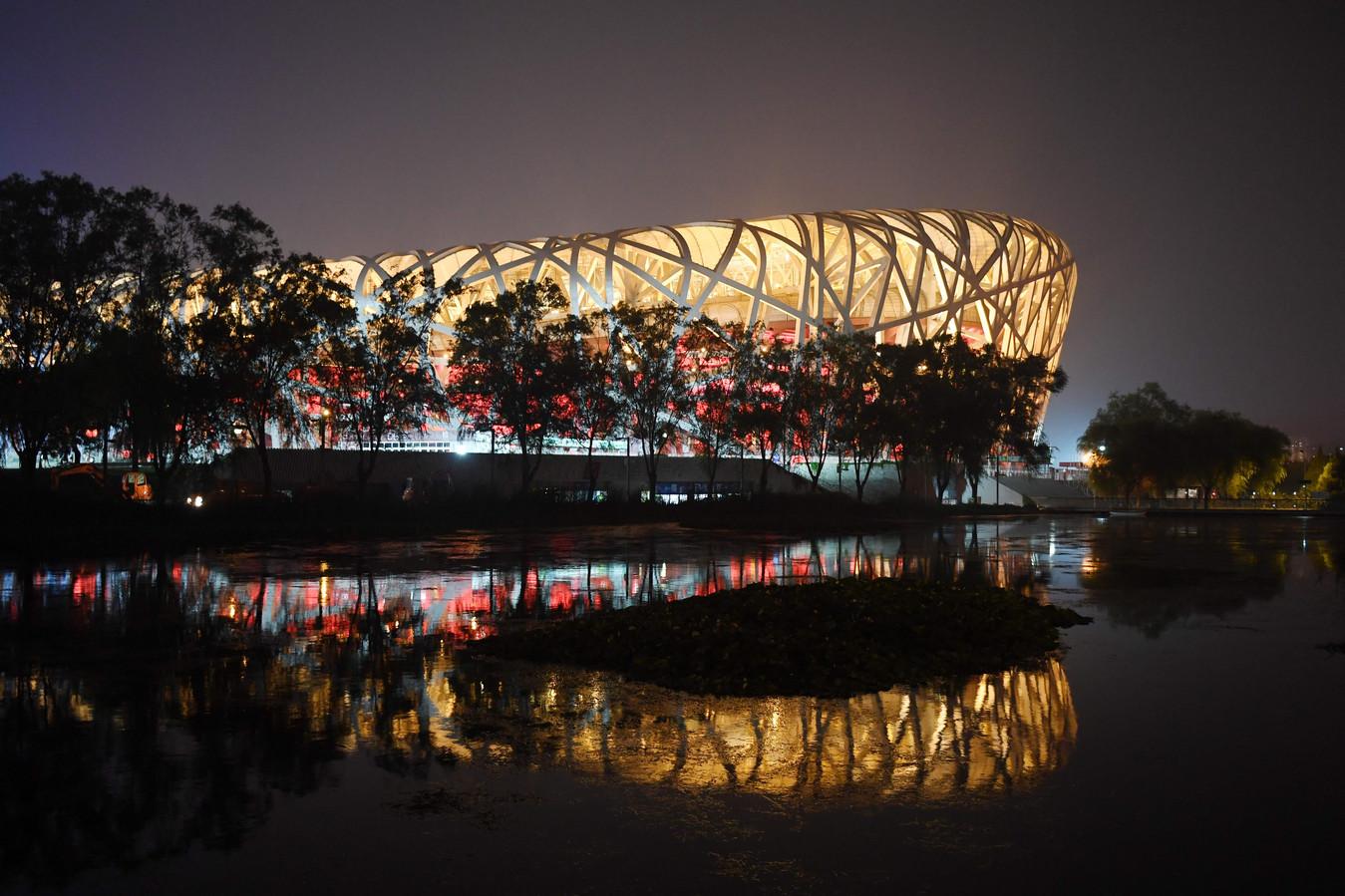Het iconische Vogelnest is samen met de Watercube, de zwemarena, het enige stadion dat nog in gebruik is tien jaar na de Spelen.