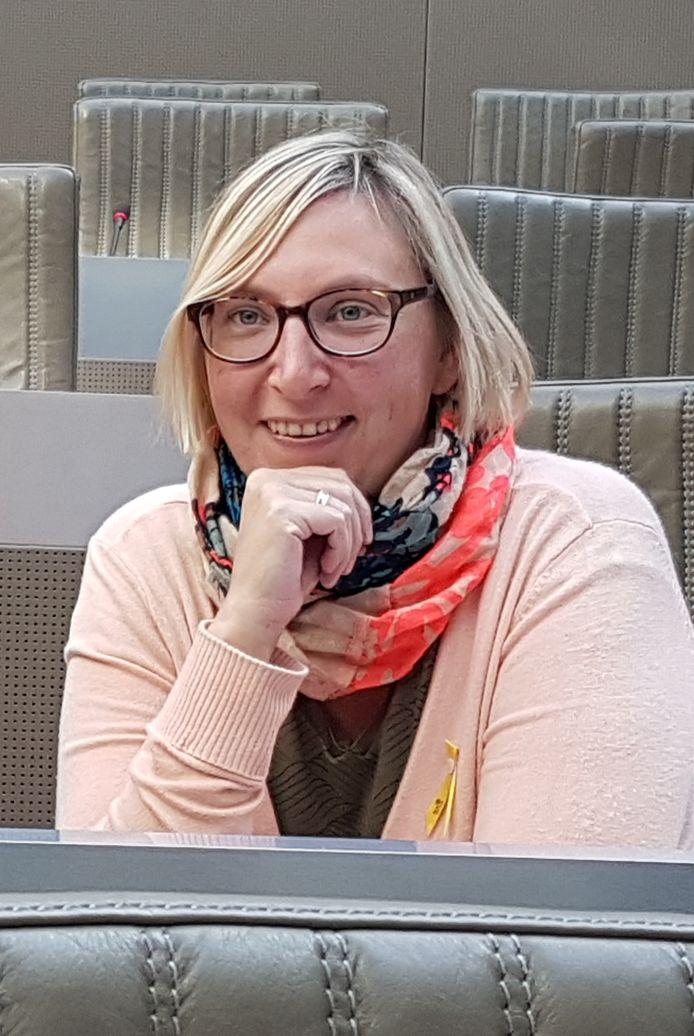 Tine van der Vloet lijsttrekker NV-A Merksplas