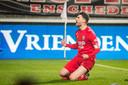 Danny Holla in het shirt van FC Twente.