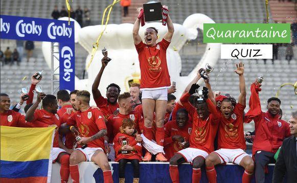 Standard won in 2016 de Beker, herken jij nog alle spelers?