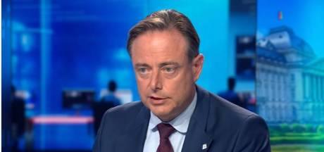 """Bart De Wever: """"Plus personne ne veut encore du MR dans le gouvernement"""""""