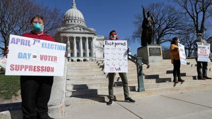 Dan toch uitstel: gouverneur Wisconsin verplaatst voorverkiezingen op allerlaatste moment naar juni