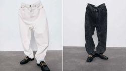Zara gebruikt 'spook' als model voor broek