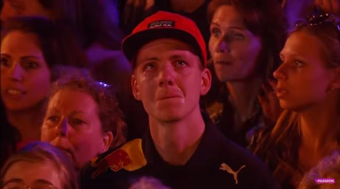 Jonathan Belt liet zijn emoties de vrije loop tijdens The Passion in Dordrecht.