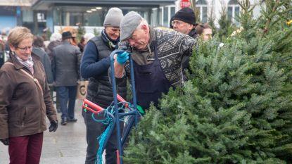 Verkoop kerstbomen van start op Gentse Kouter
