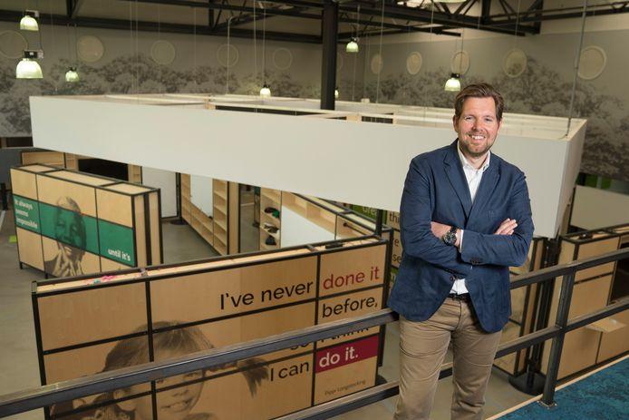 Huub Waterval, directeur en oprichter, van Nextview.