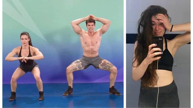 """Hoe realistisch zijn de online work-outs van Cirque du Soleil-acrobaten? Redactrice Stéphanie testte het uit: """"Mijn armen voelen als gekookte spaghetti"""""""