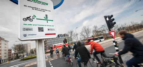 Fietsers in Flevoland sneller door 'groen' dankzij gratis app
