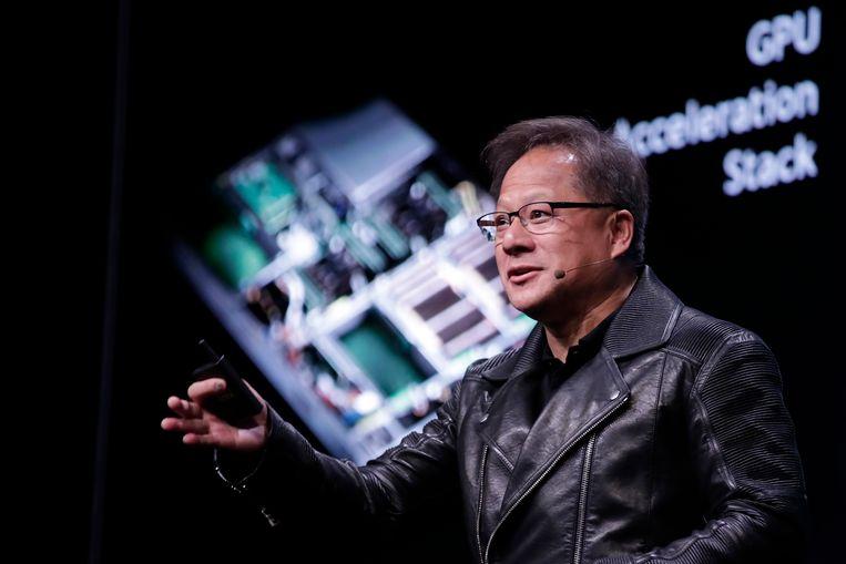 Medeoprichter Jensen Huang van chipgigant Nvidia.