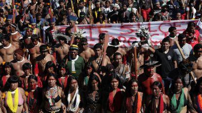 Braziliaanse inheemse stammen betogen tegen assimilatieplan Bolsonaro