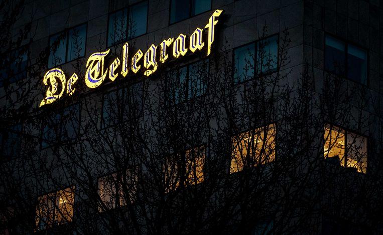Het hoofdkantoor van de Telegraaf Media Groep (TMG) in Amsterdam.