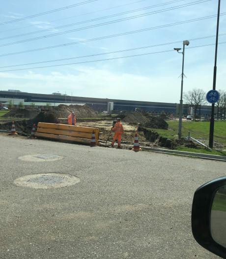 Aanleg 'bouwweg' Borchwerf ligt twee weken stil: 'Behoorlijke puzzel'