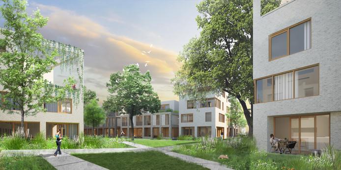 Janninkkwartier, nieuwe woonwijk in Enschede. Kwartiermakers