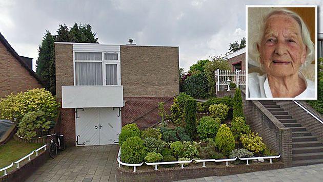 De woning van de hoogbejaarde Lies Wetzels-Lindelauf in Heerlen.