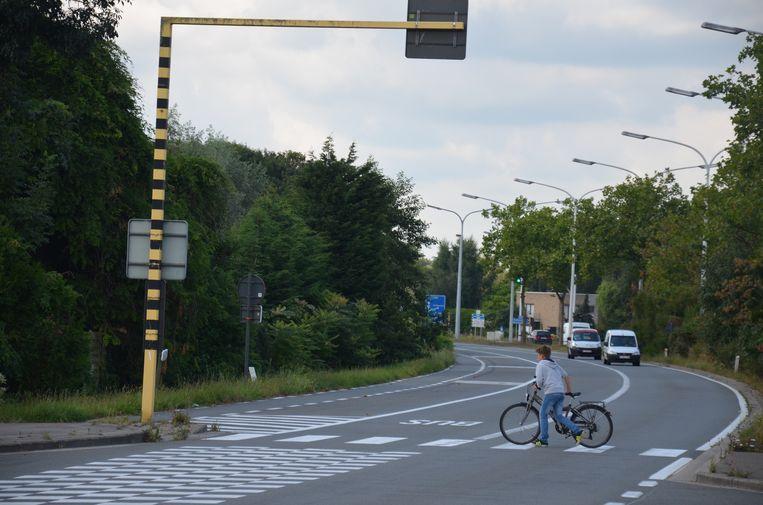 De doortocht van de R4 in Zelzate.