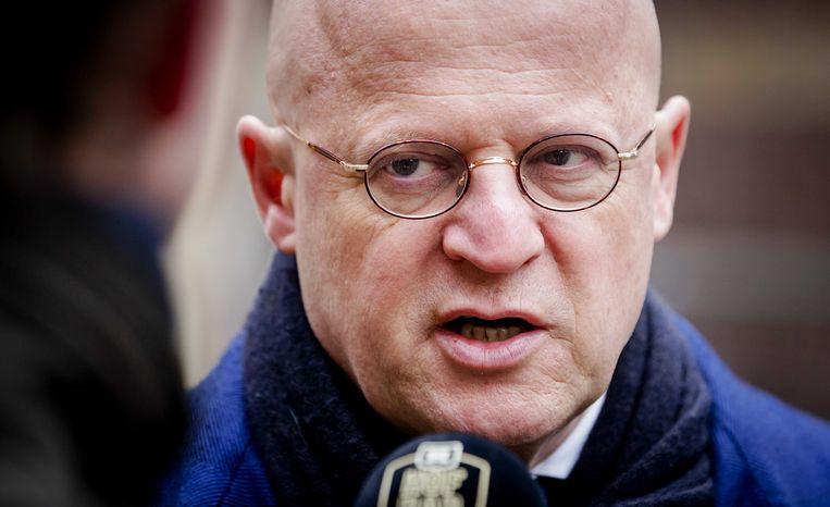 Minister Ferdinand Grapperhaus van justitie en veiligheid (CDA) Beeld ANP