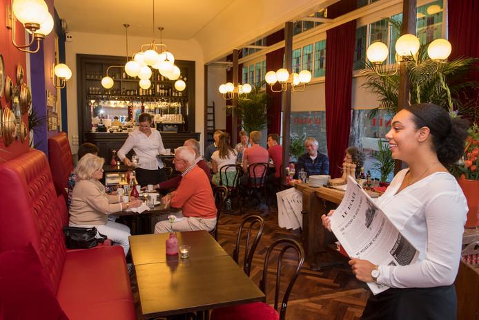 Restaurant Le Monde in Wageningen.