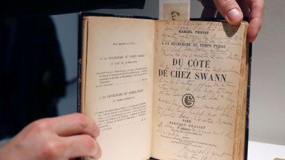 Originele uitgave van Marcel Proust geveild voor absoluut recordbedrag