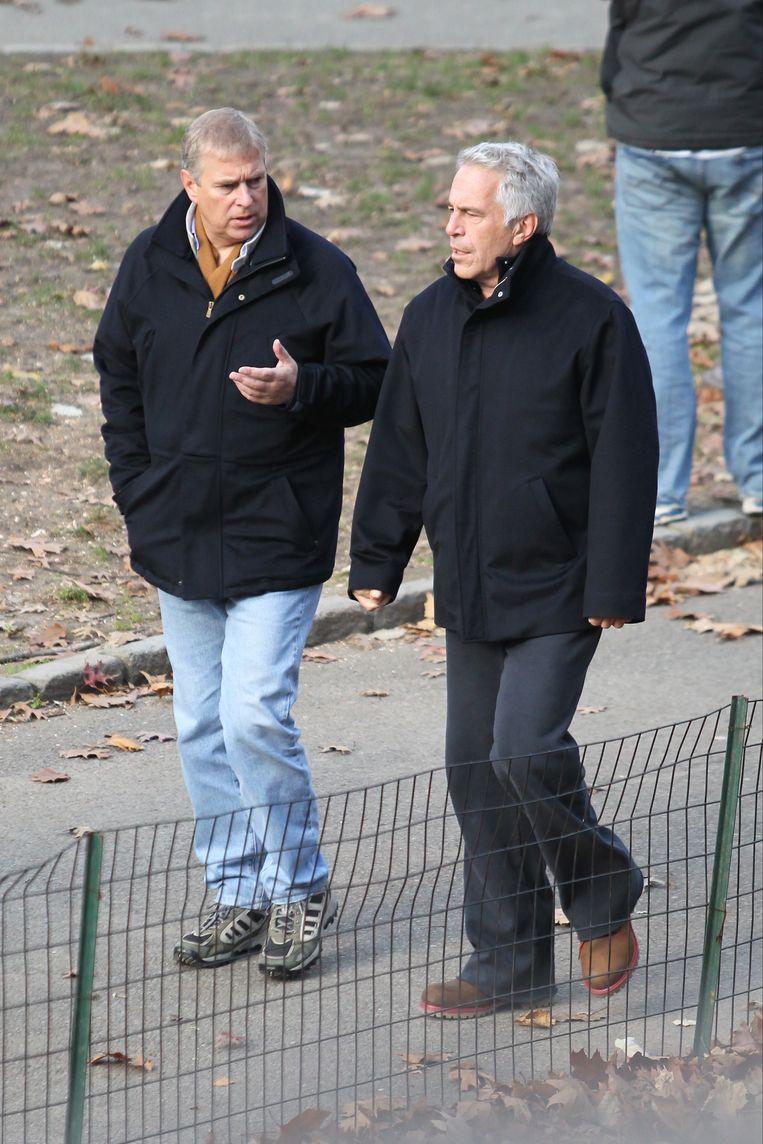 Andrew en Epstein werden samen gefotografeerd.