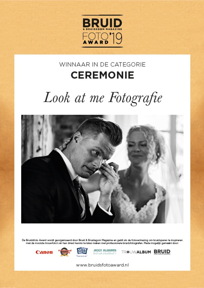 De Veghelse fotografe won de prijs in de categorie 'Ceremonie'.