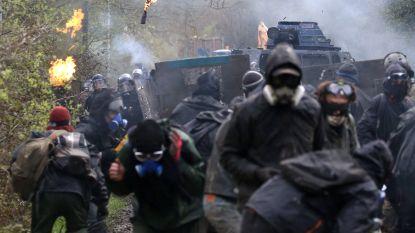 Al derde dag confrontaties bij ontruiming opgegeven luchthavensite bij Nantes
