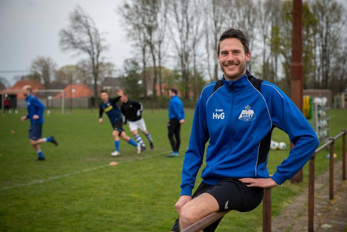 HMVV-speler Hans van Gompel