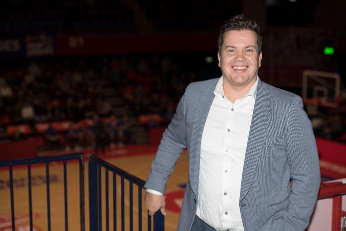 Clubeigenaar Bob van Oosterhout van Heroes Den Bosch.