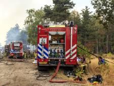 Meer werk voor brandweer door warme zomer