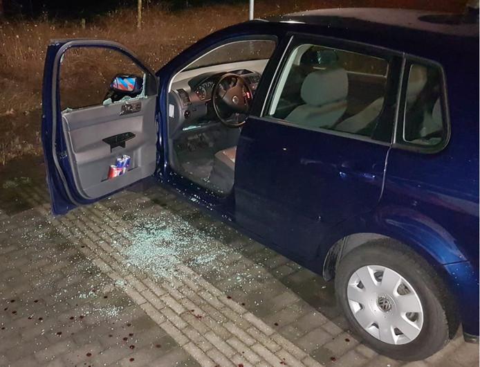 Diefstal met geweld in Veghel.