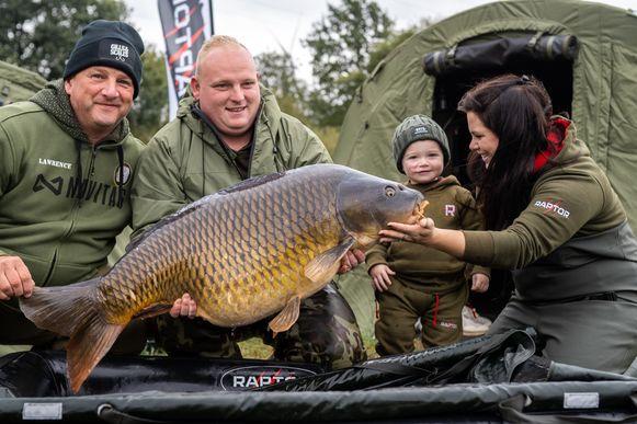 De zwaarste vis van de wedstrijd van maar liefst 23,5 kilo.