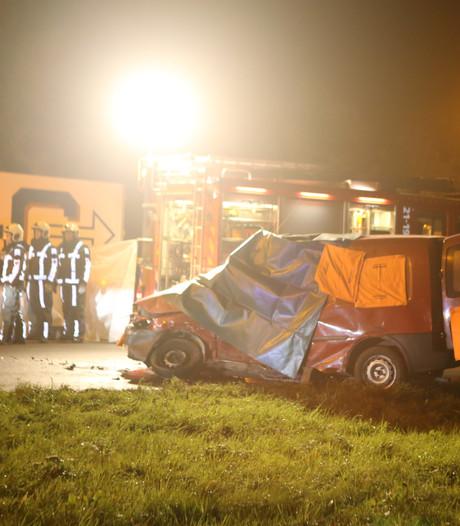 Politie: Vrachtwagenchauffeur bij dodelijk ongeval N65 reed mogelijk door rood