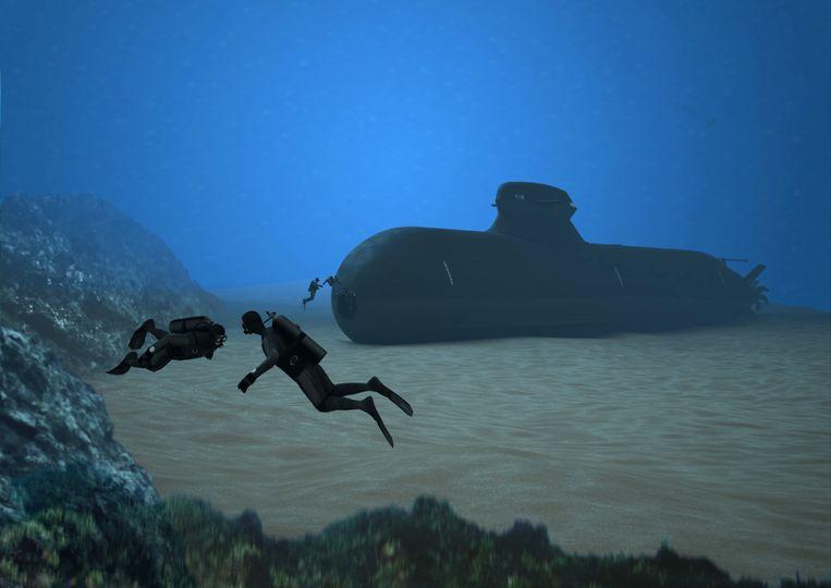 Saab wil met Damen een variant van deze onderzeeboot maken voor de Nederlandse marine.  Beeld Saab