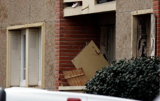 L'appartement dans lequel Mohamed Merah a été abattu le 22 mars dernier.