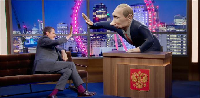 Un Vladimir Poutine virtuel animera bientôt un talk-show sur la BBC.