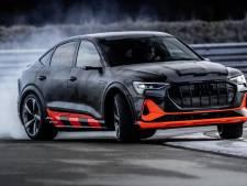 Iedereen kan driften met nieuwe driemotorige elektrische Audi