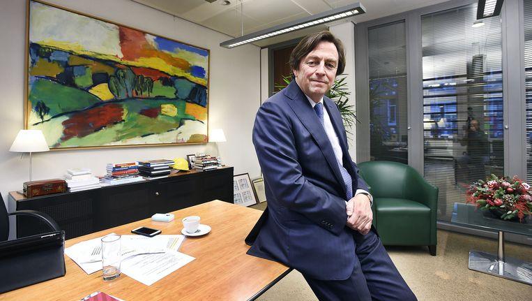 Hans Wijers. Beeld Guus Dubbelman/ de Volkskrant