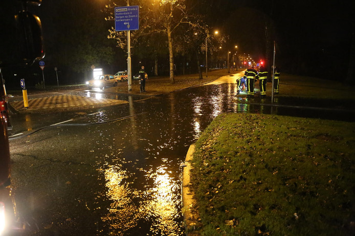 Wateroverlast.