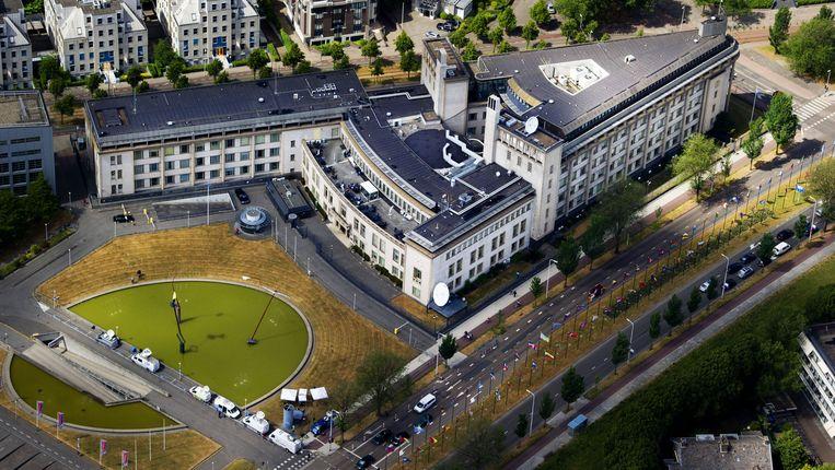 Het Joegoslavië tribunaal in Den Haag.  Beeld ANP