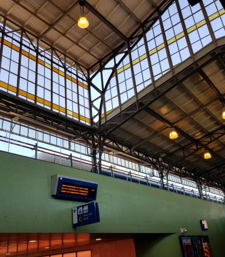 Historische perronkap van station Hengelo krijgt 'make-over'